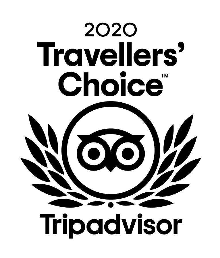 Trip Advisor Travellers' Choice 2020